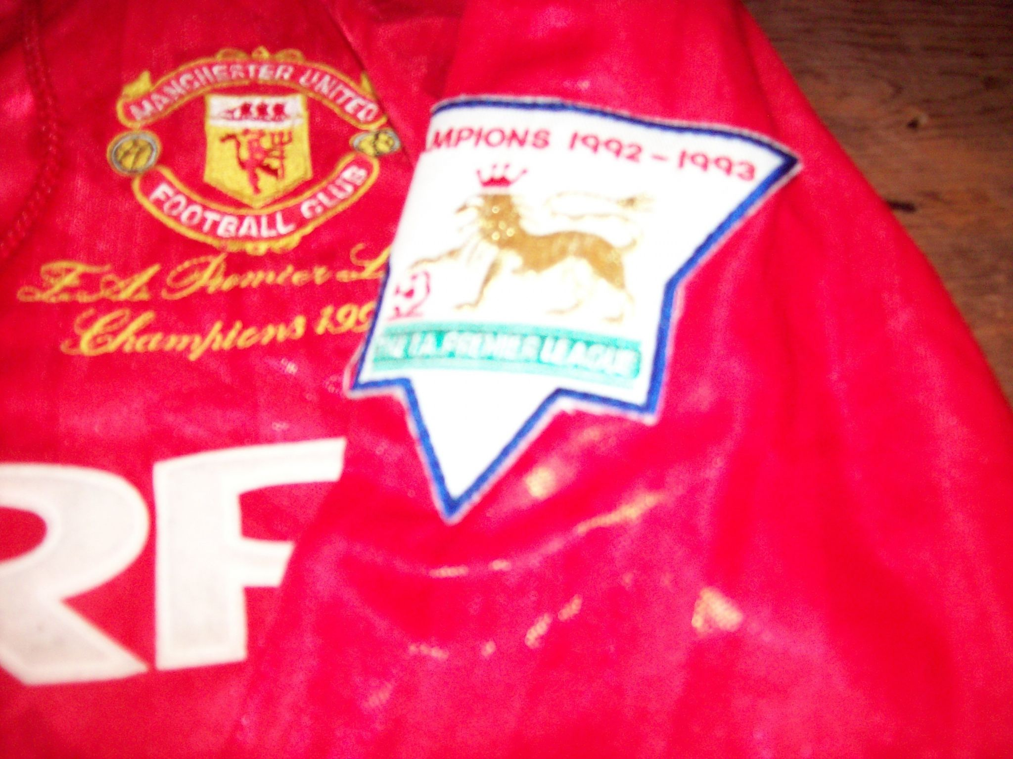 Global Classic Football Shirts 1993 Manchester United